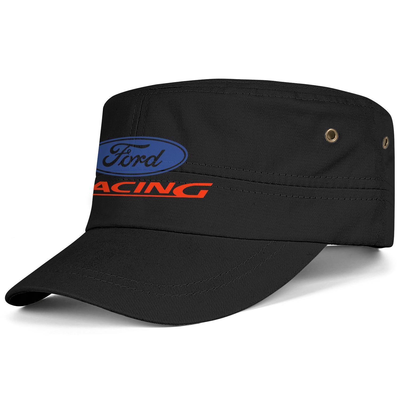 Womens Mens Washed Cap Hat Plain Adjustable Ford Performance Racing logo Hip Hop Cotton Ball Cap Summer Travel Hats Cadet Army Caps Bucket H