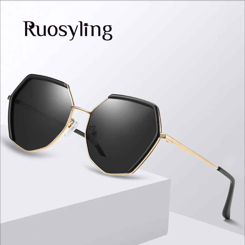 Ruosyling Fashion Sunglasses Women Sun 2019 Polarized 400 Outdoor Glasses UV Glasses Dark Female Lens Girls Ladies Eye TAC New Ppups