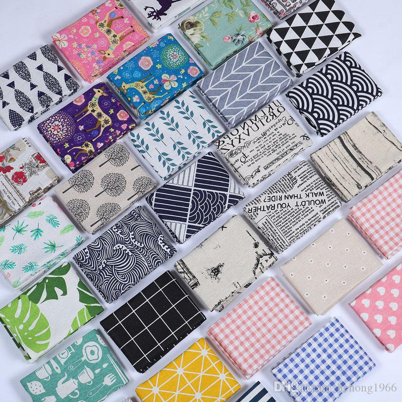 Cotton And Linen Tea Towel Leaf Printing Table Napkin Water Uptake Dinner Cloth Many Styles 4 5sd C