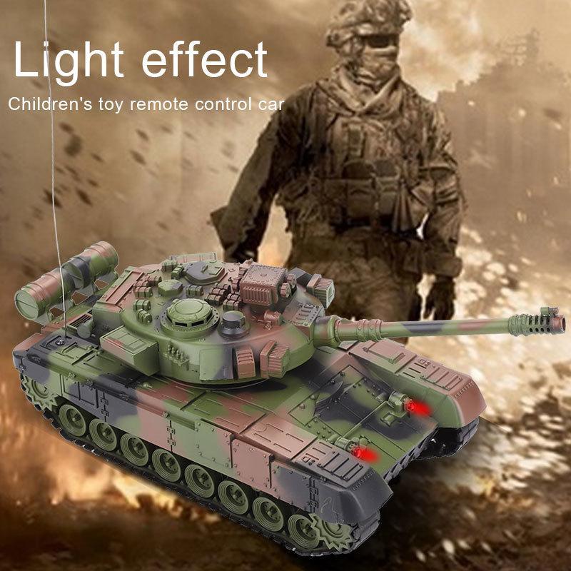 RC зарядное устройство боевой запуск кросс-кантри гусеничный пульт дистанционного управления автомобиля Raido танк комплект хобби мальчик игрушки для детей дети подарок Y200317