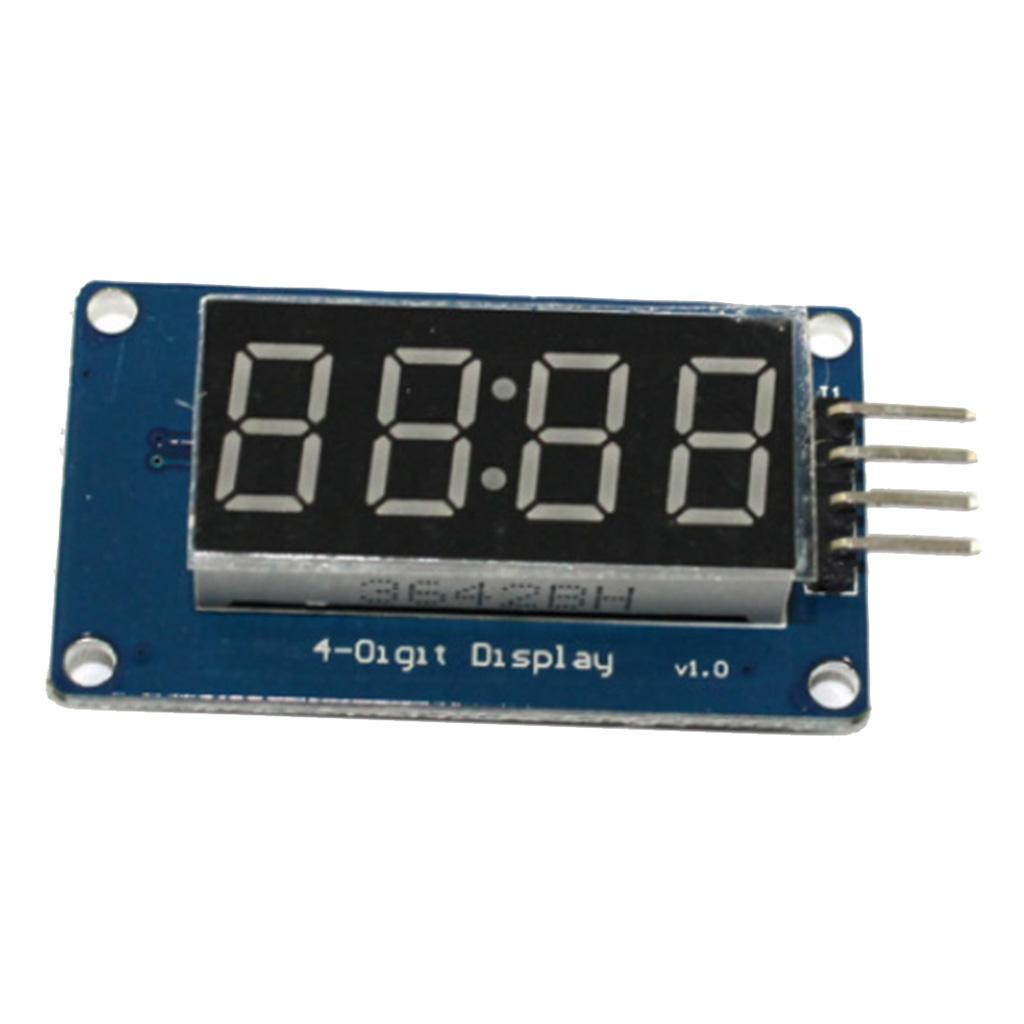 "New 0.8/"" 4 Bits Digital Tube LED Segment Display Module Red Common Anode"