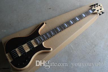 고음질 일체형 Warwick Corvette NT 5 로프 암흑 전기베이스 기타 (EMG 포함) Active 픽업 11-15-10