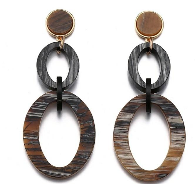 Americal and Eurpean Designer's New 2008 Cold Wind Spring Earrings Earrings Personal Acrylic Ear Nails Jewelry