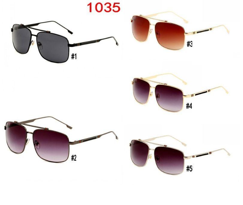 1035 Sunglasees Italy Fashion Sunglasses For Men Women pilot Mens Sunglass Retro Sun Glasses Ladies Designer Sun Glass eyewear eyeglasses