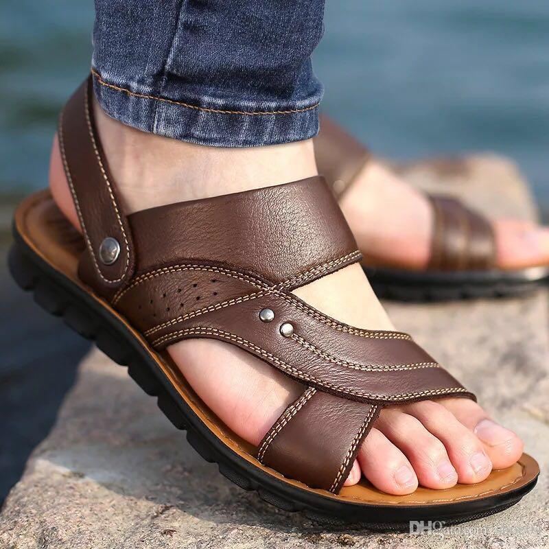 Femme Sandales Pantoufles Pantoufles plates Chaussures de créateurs Sandales en Cuir Véritable Semelle en Caoutchouc Eu: 35-41 Avec une boîte exquise 52