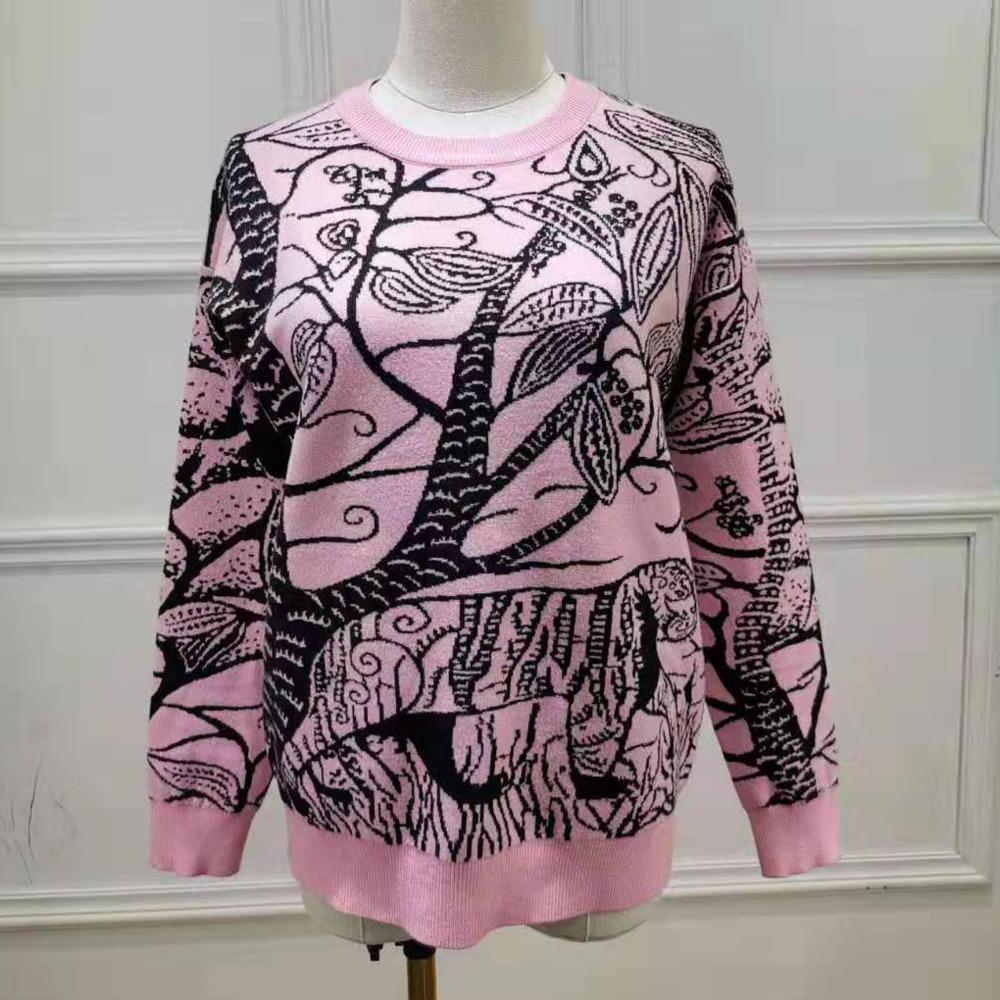 Frauen Pullover beiläufige Art und Weise Pullover Größe S-L bequeme warme WSJ009 # 1127100 sun06