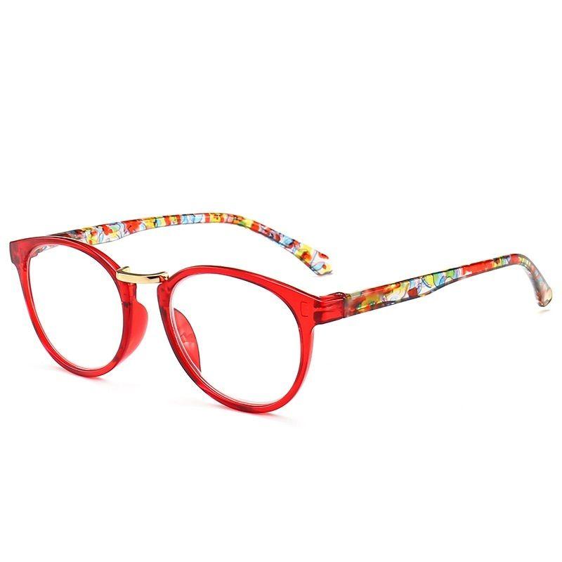 LONSY Rodada Moda óculos de leitura Mulheres Homens Marca Vintage Negócios Hyperopia Prescrição Eyewear +100 +200 +300 +400