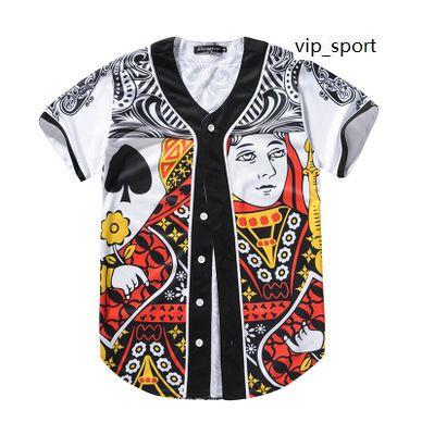 على الانترنت نمط جديد رجل البيسبول الفانيلة الرياضة قمصان 3D الأزياء مع زر نوعية جيدة 17 رخيصة