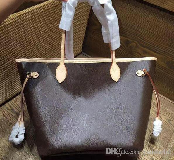 2pcs / набор Классический сумка с Проектировщик сцепления Роскошные сумки Кошельки Женщины Real Корова кожи плеча сумок сумки 40995