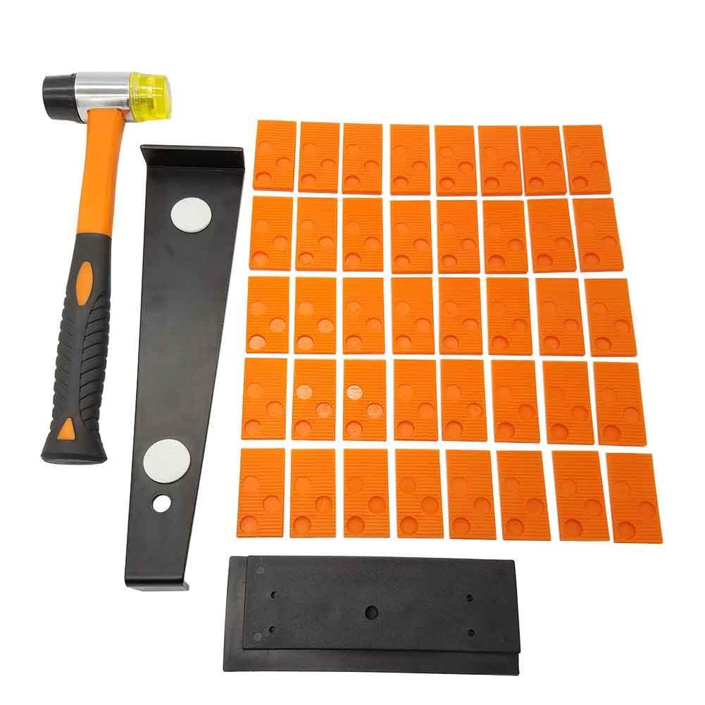 Wood Flooring Laminate Installation Kit Floor Fitting Tools Mallet Spacers SALE