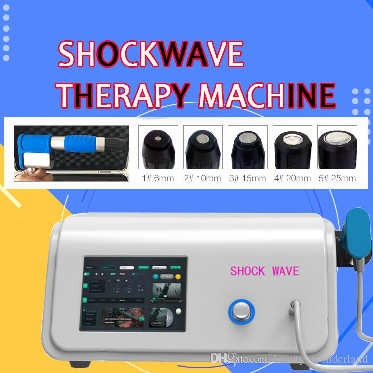Taşınabilir Ortopedik Akustik Radyal Şok Dalga ortopedik fizyoterapi makinesi için / Ganiswave şok dalga tedavisi Ekipmanları CE