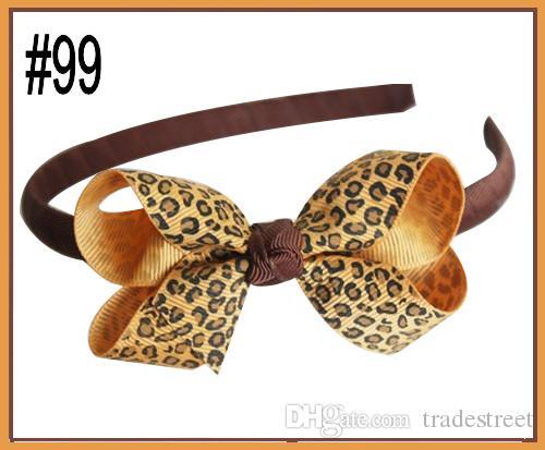 free shipping 50pcs 2.5-3'' New fashion Boutique Girl Headbands hair bow clips character girl headbands hard headbands
