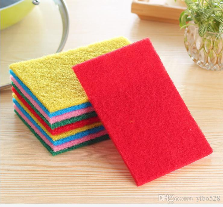 2019 Highly Efficient Scouring Pad Dish Cloth Cleaning Wipers Kitchen Rags Strong Decontamination Dish Towels From Yibo528 70 36 Dhgate Com