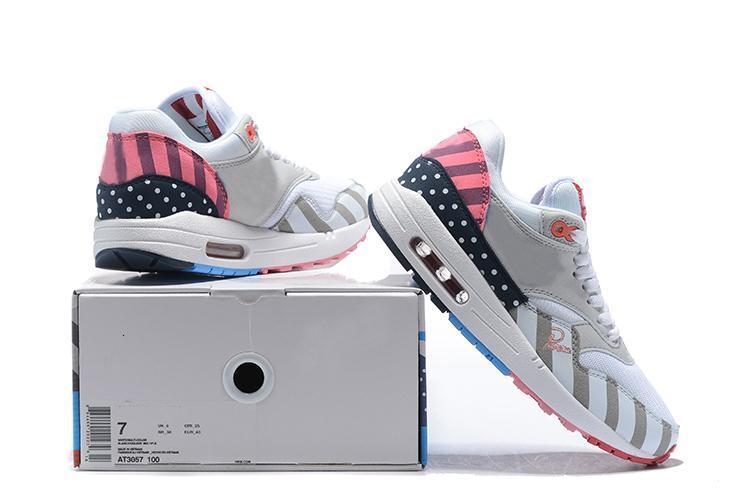 Sıcak Satış Piet Parra 1 Koşu Ayakkabı Erkekler Kadınlar Parra 87 beyaz çok renkli Wotherspoon Yeni Spor Spor ayakkabılar Koşu Eğitmenler x