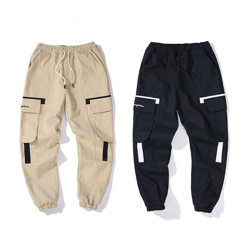 Womens Marka Tasarımcı 2020 Kalınlaşmak Pantolon Yüksek Kalite Günlük Moda Pantolon Yeni Sport Sweatpants 2 Renkler varış