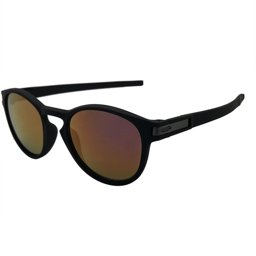 Lunettes de soleil de designer de luxe Lunettes de marque Sports de la mode de luxe Lunettes de soleil sur mesure 9265 noir mat / violet Mirror Lens