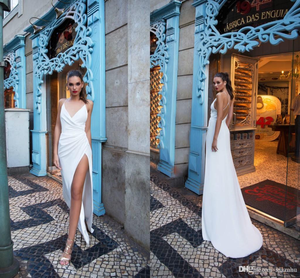 V-neck sexy mermaid wedding dresses beautiful lace sexy back design wedding dress beautiful wedding dress Robes De Mariee
