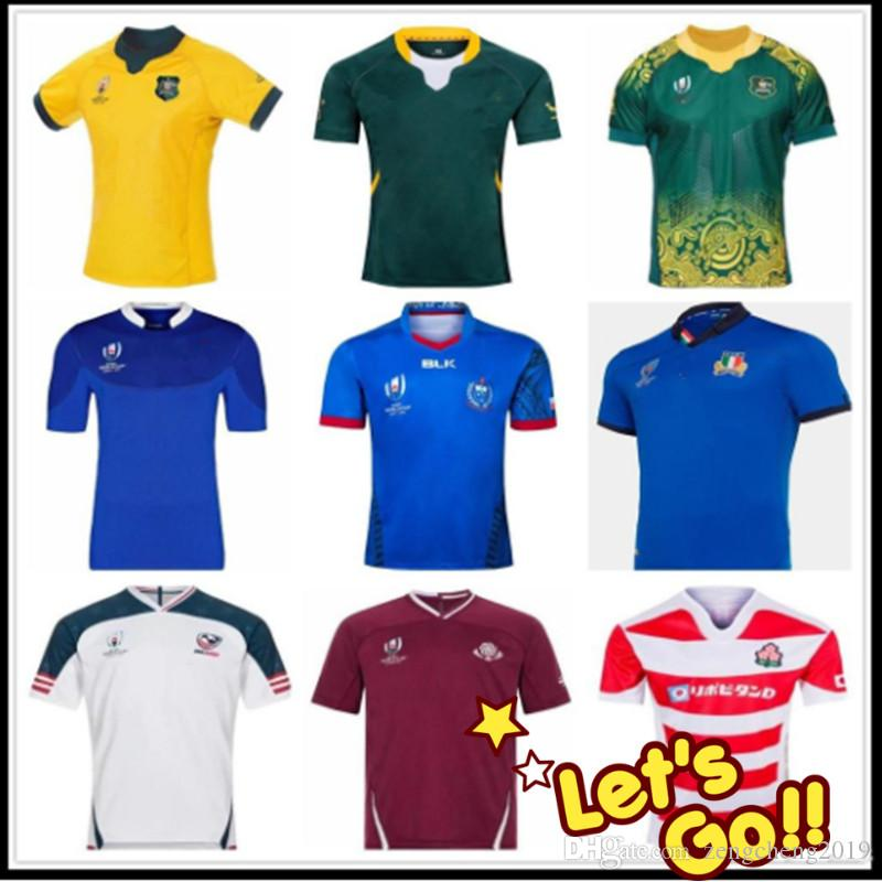2019 2020 Japan USA Italien Rugby-Shirt Georgia RWC Rugby Jerseys Rugby League Australien South AfricaES Shirts