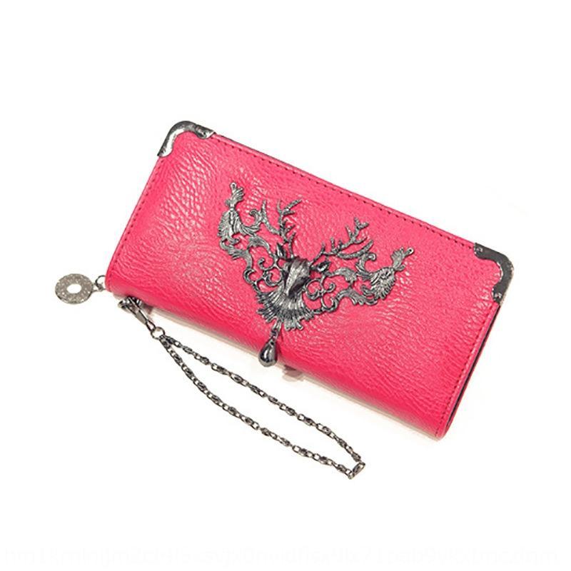saco de telefone carteira zipper novo chefe do telefone móvel celular das mulheres personalizado livelong veados saco de decoração da moda carteira aL5kW