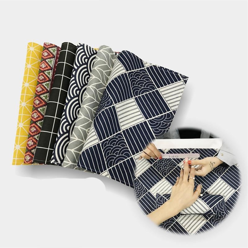 Moda Linho Nail Art Mesa Mão Travesseiro Braço Descanso Almofada Prego Mão Almofada de Mão Descansa Prego Cuidados de Travesseiro Conjunto Salon Manicure Ferramenta 1 Conjunto
