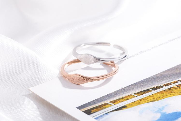 Оптово-Корейская версия проста, сладкая, красивая, овальная форма, рисунок ring.fashion отверстия регулируемых аксессуаров
