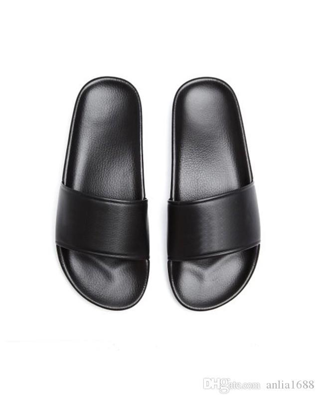 Mens e mulheres unisex piscina sandálias de slides apartamentos chinelos meninos meninas causal mocassins de couro da praia