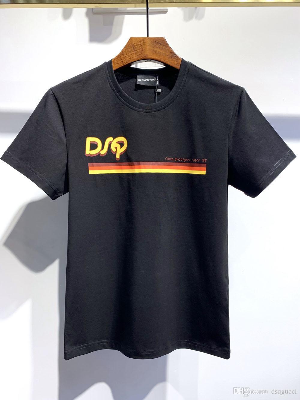 SBT Erkek Tasarımcı T Gömlek Siyah Beyaz Erkek Yaz Modası Günlük Sade tişört 6843 Kısa Kollu Euro Boyut M-XXXL Tops