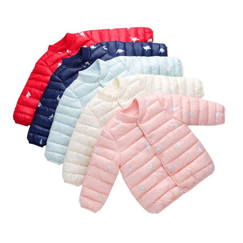 Girls Jacken Kinder Oberbekleidung Mantel-Winter-Baby-Mädchen-Cardigan Jacke Kleinkind warmen Mantel-Kind-Kleidung für 3-7 Jahre