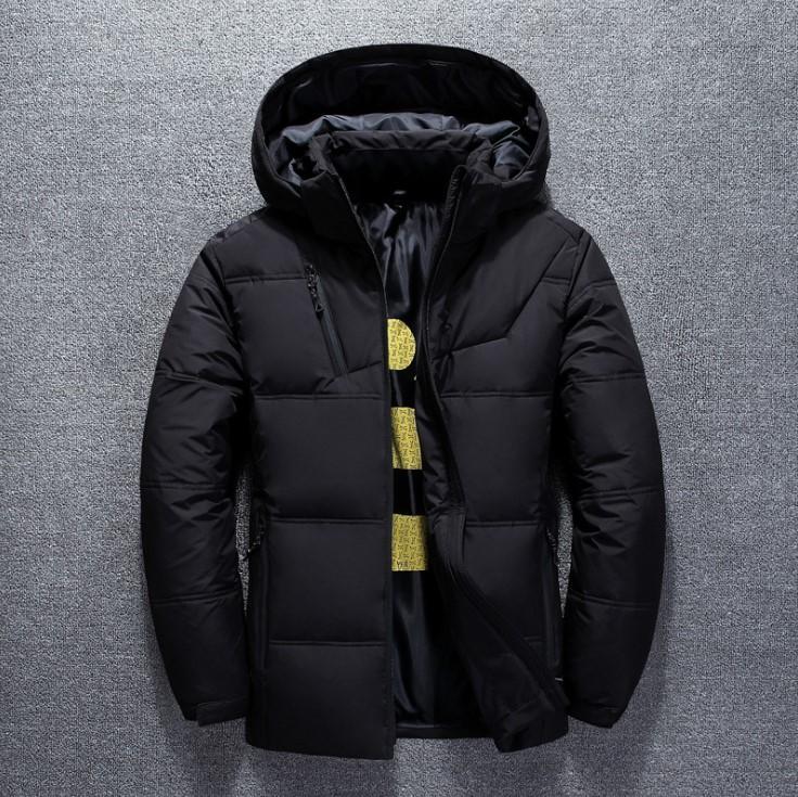 Designer Doudounes Hommes Luxe Court Outdoor Leisure Manteau chaud capuche Mens Fashion Casual Parkas Bas Manteaux 4 couleurs Taille Plus