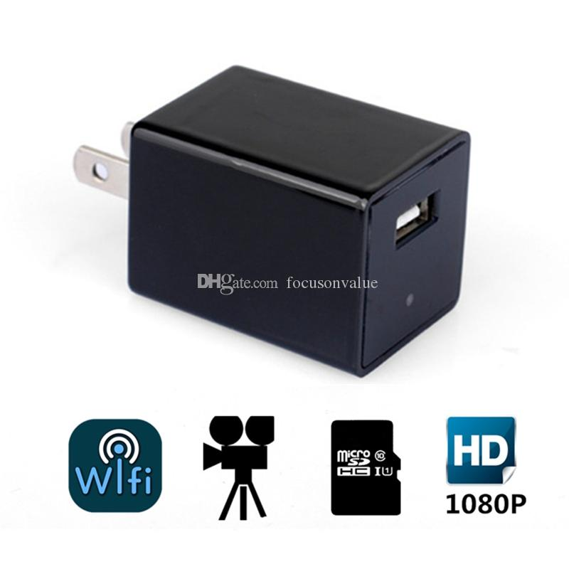 WIFI 1080P HD USB AC Adapter Kamera Z99 USB Ladestecker Micro Kamera Home Security DVR Videorecorder mit Bewegungserkennung