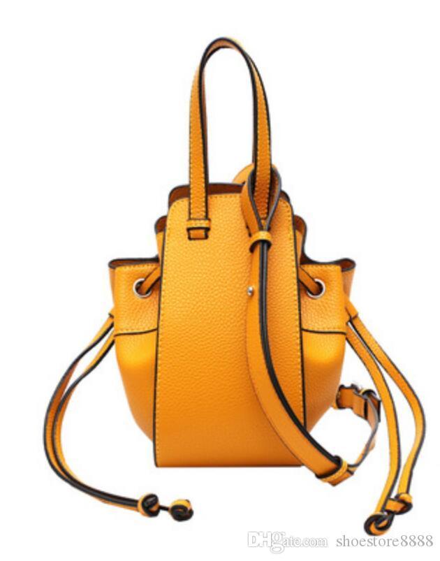 famosa bolsa monedero del diseñador bolsos de lujo del cuero genuino de tamaño mini de cuero reales totalizadores de la manera del bolso del X44