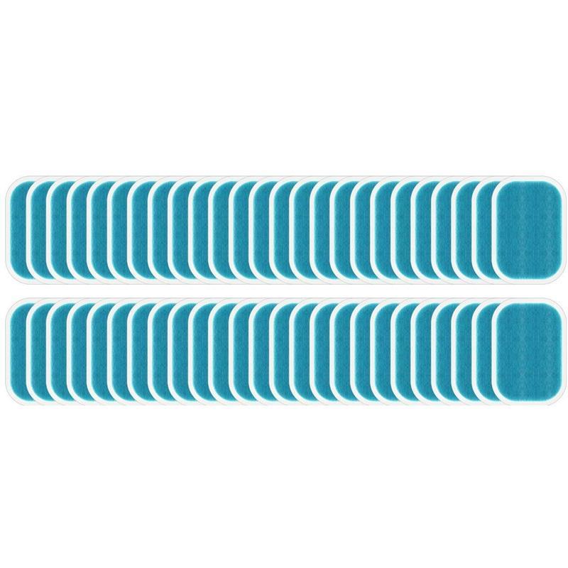 50 pc / 25 pacchi di ricambio Abs stimolatore Formazione cuscinetti di gel sonore per Abinal Muscle Trainer, Accessorio per Ab Workout Tonificazione