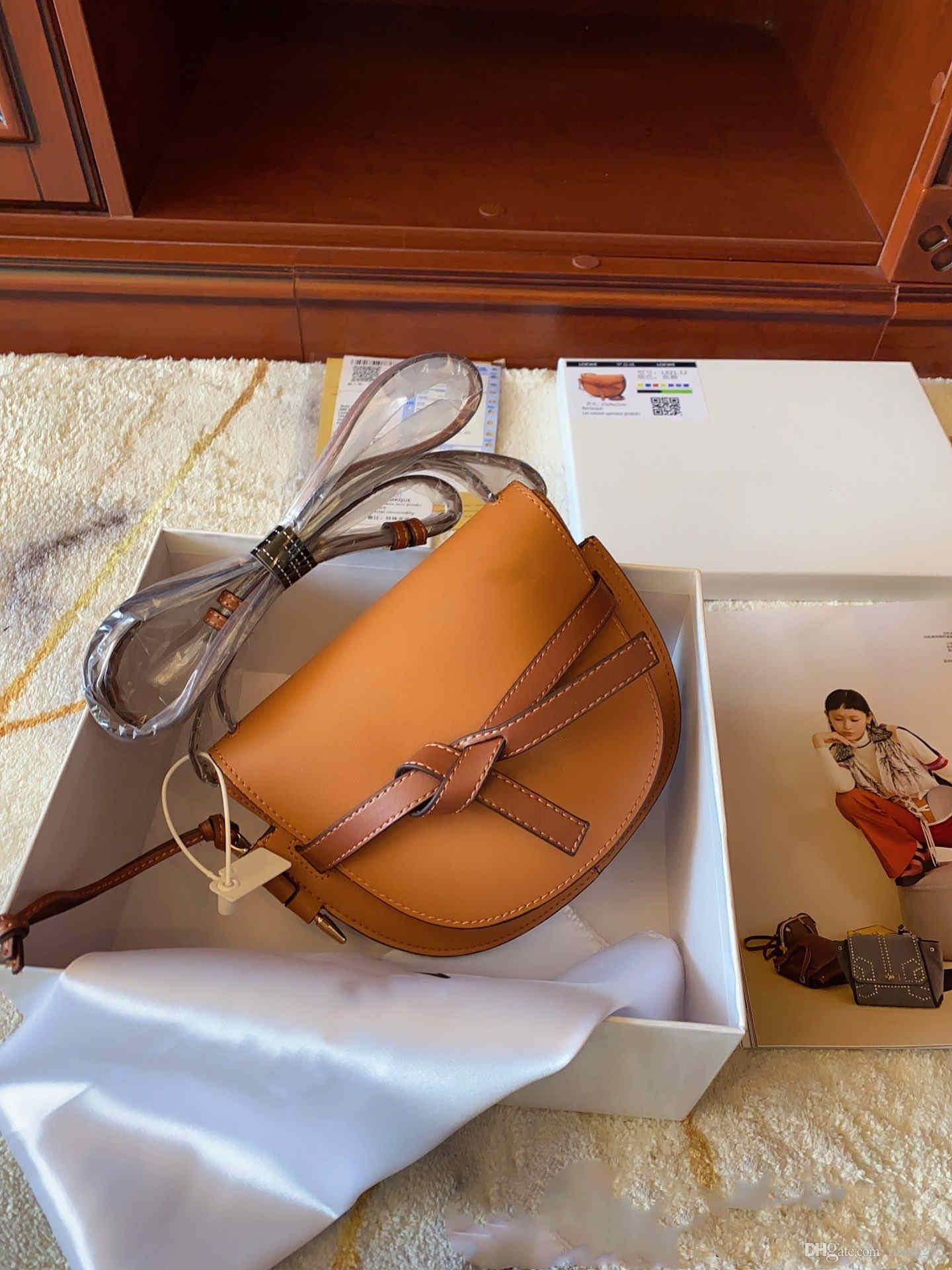 Frauen Designer Handtaschen Leder Schulter C09 Taschen Tasche Messenger Staubqualität Gute Box Crossbody Klassische Art Sattel Geschenk Einzelne Banpk