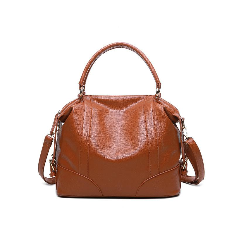 Pop2019 Woman Leisure Time Concise Ma'am Bag Chao 100 Take Hand Mention The Messenger Single Shoulder Package