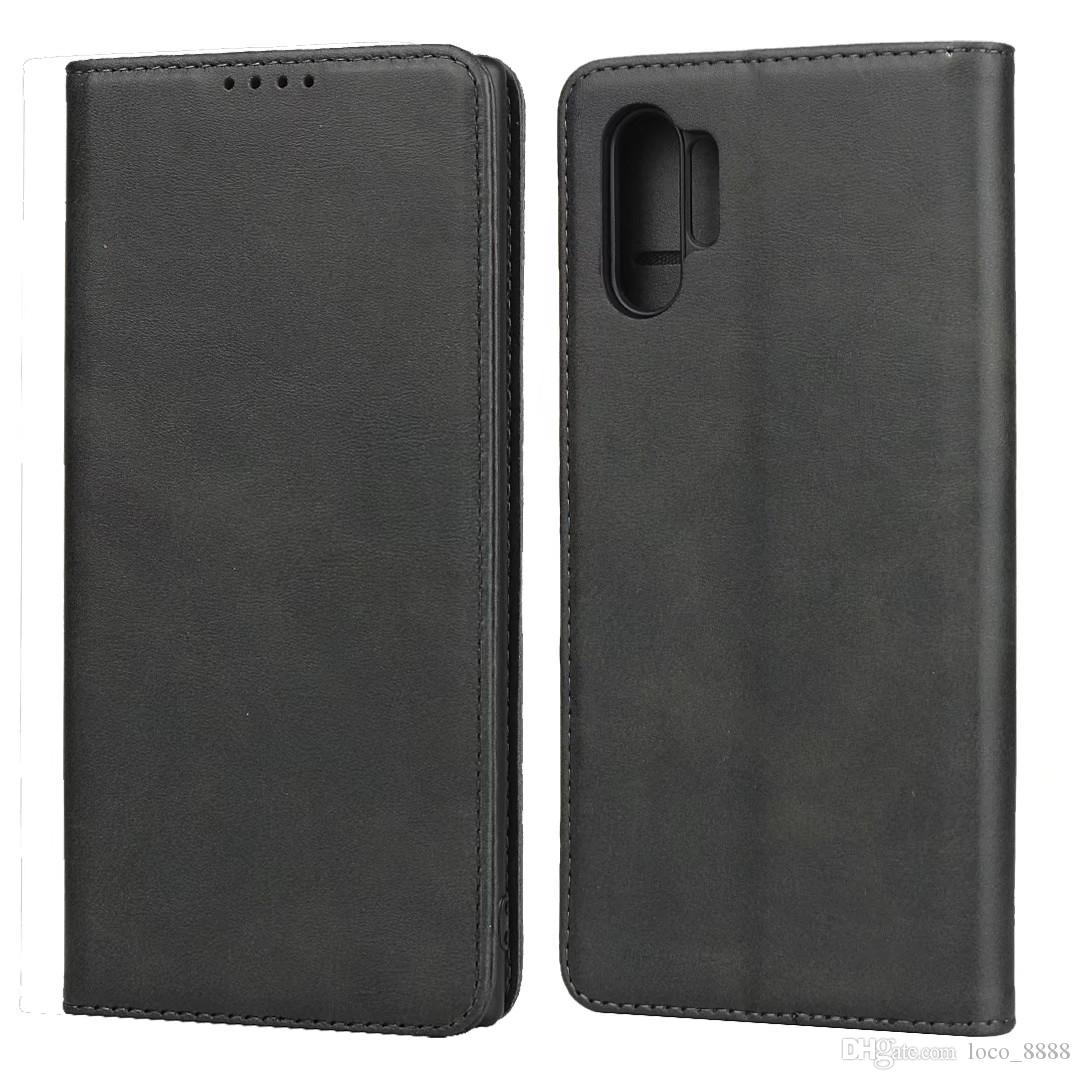 Wallet Card Genuine Leather Case For Samsung Galaxy Note 20 Ultra 10 9 S20 S10 S9 Plus A71 A51 5G A41 A21S A21 A11 A30s A70 A50