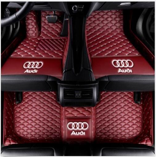 Audi Q5 2010 ~ 2018luxury için özel su geçirmez araba mat Su Geçirmez kaymaz Halılar zemin mat Toksik Olmayan ve kokusuz