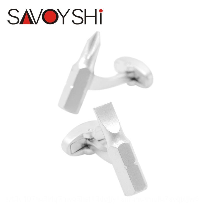 pPiTc Savage new tool fun fashion Men's shape cufflinks screw French shirt cuff Savage new tool fun fashion Men's shape cufflinks Screwdrive