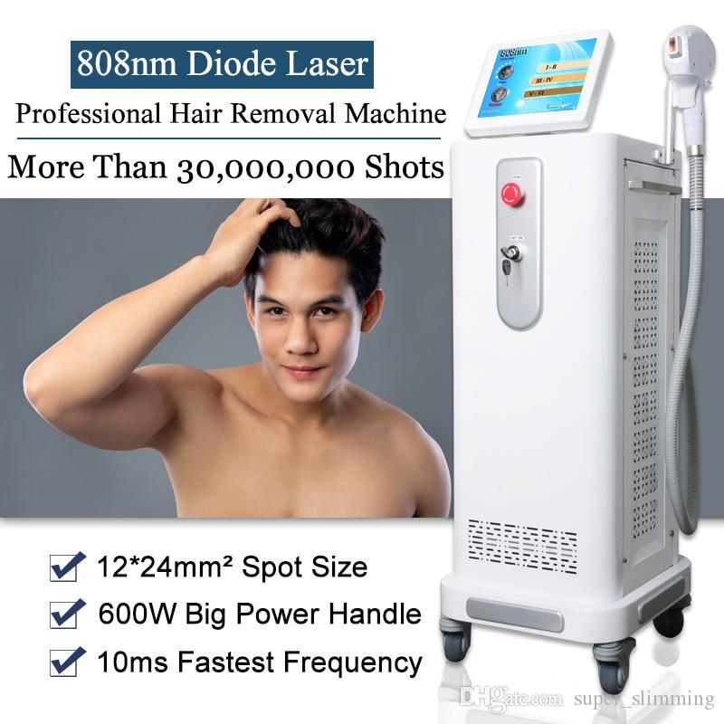 beauté machine laser épilation alma épilation laser équipement de salon de beauté machine laser à diode 808nm