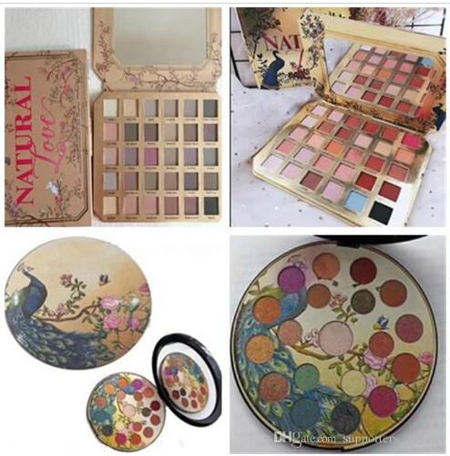 Dropshipping in stock Makeup eyeshadow palettes Chocolate Natural Love Eye Shadow cosmetics Collection Ultimate Neutral 30 Color set