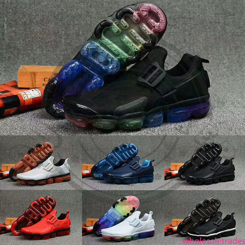 2019 Fly White Black Rainbow Designer Running Shoes Ultra Blue Gym Red Mens Trainers Slip on Men Sports Jogging Shoe Sneakers Size 7-12