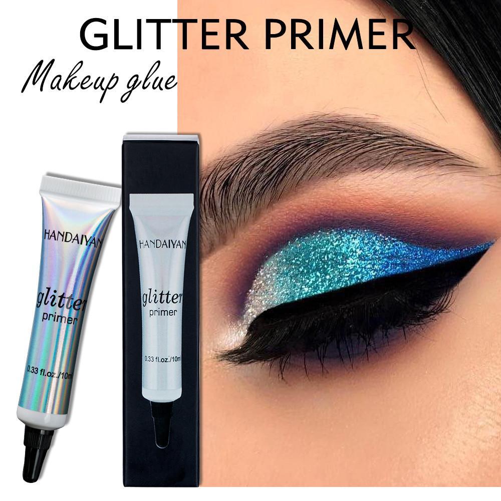 HANDAIYAN Glitter Göz Farı Astar Profesyonel Bankası Astar Göz Farı Makyaj Krem Tutkal Pullarda Fonksiyonlu Makyaj Jel