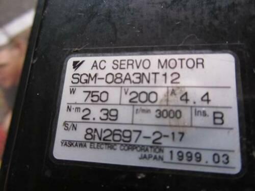 1PC NEW IN BOX YASKAWA moteur AC SGM-08A3NT12