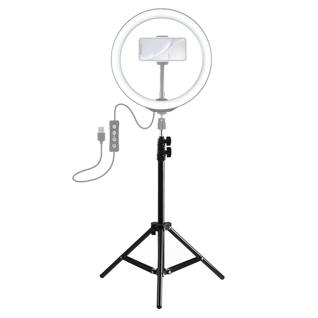 PULUZ 1.1m Altezza del supporto treppiedi per il Vlogging video live luce Broadcast Kit
