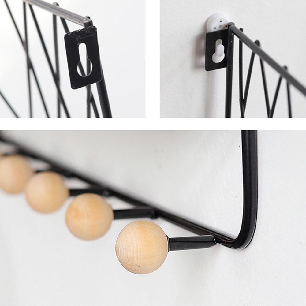 Kitchen Home Accessories Door Hook Closet Creative Iron 1Pc Rear Wall Hook BL