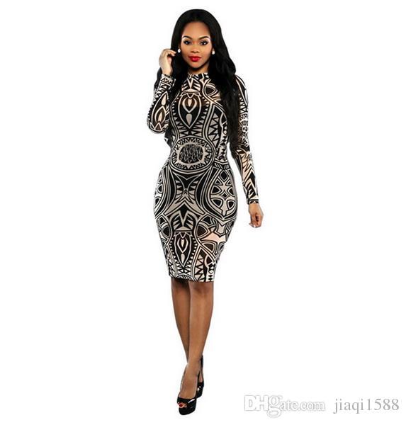 Grosshandel 2019 Neue Mode Trend Kleid Digitaldruck Tattoo Verbandkleid Stern Heissen Stil Kleid Neue Sommer Tragen Frau Von Jiaqi1588 11 19 Auf De Dhgate Com Dhgate