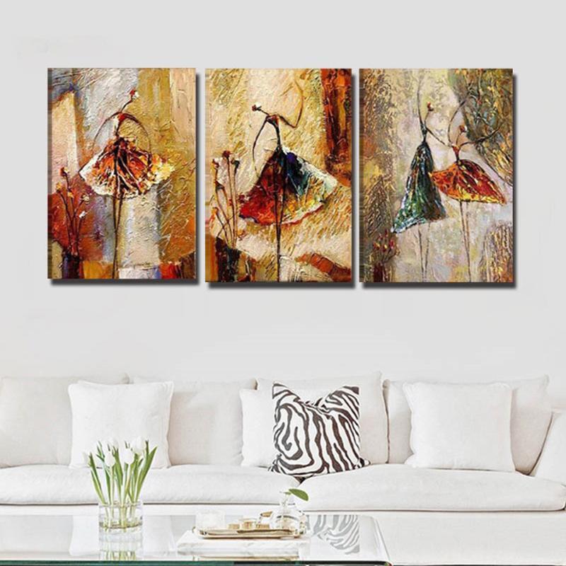абстрактное искусство балерина фотографии 5d Алмаз живопись полная новинка 2020 мозаика искусство Алмаз вышивка иконы новый горячий 3шт WW116