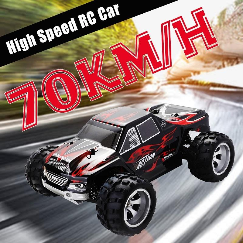 RC Car WLtoys A979 1/18 4WD Racing Car Remote Control Off Road Race Car 2.4 GHz Remote-radio-controlled High Speed Truck Buggy MX200414