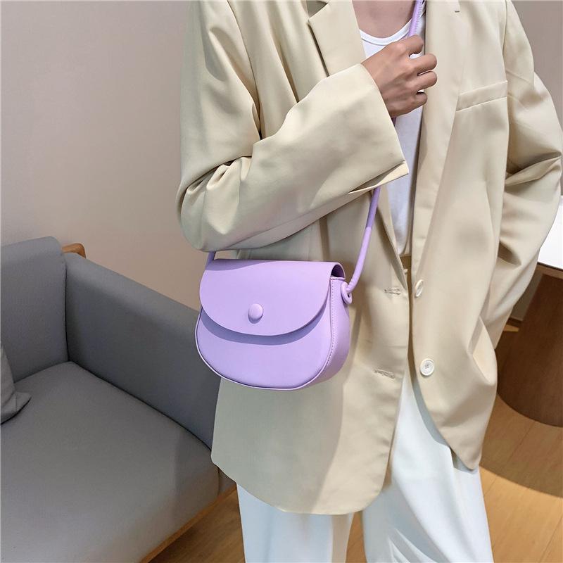 2020 nuova texture moda borsa a tracolla delle donne avanzata crossbody borsa di modo estero borsa da sella