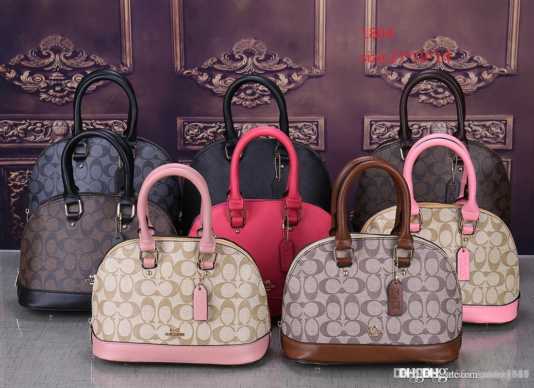 2020 أنماط حقيبة يد الشهيرة اسم جلد موضة حقائب اليد، وحمل حقائب الكتف سيدة حقائب M حقائب مال ظهره 1804