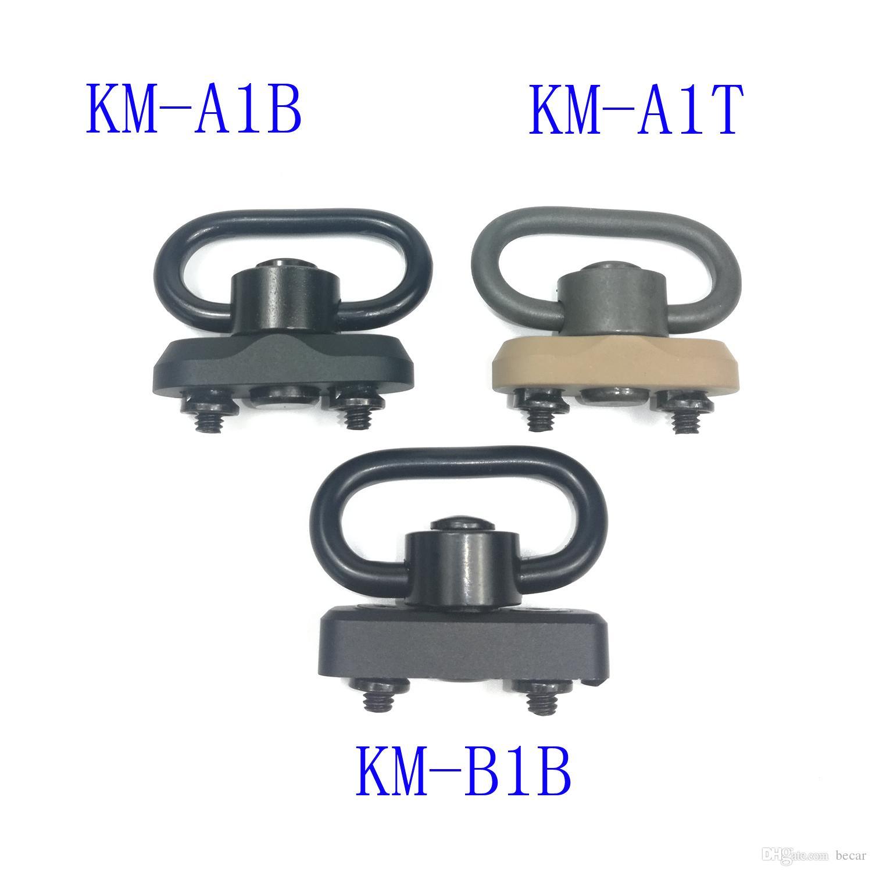 Keymod Standard QD Sling Swivel Adapter Rail Mount Kit(QD Swivel Included)Tactical gear hunting accessories